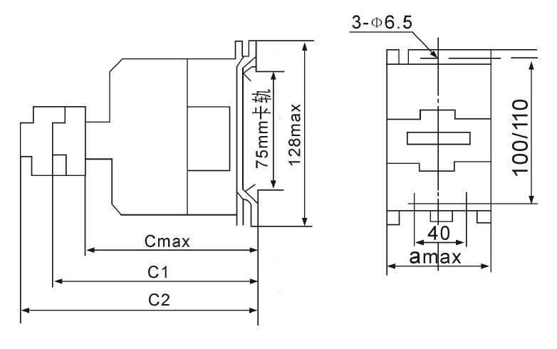 gsc1(cjx4-nd)-8004四极交流接触器