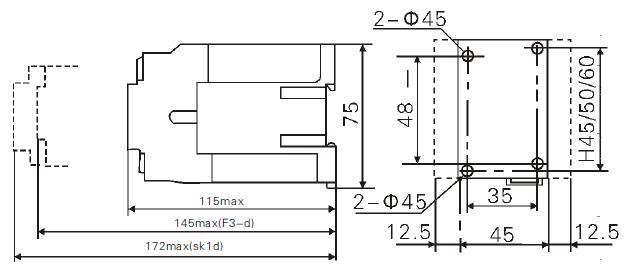 jzc3-22,31,40z 直流操作接触器式继电器