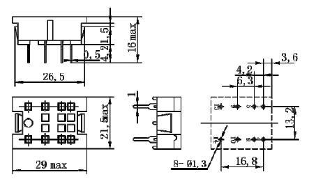 jzx52p/b 直流小型控制继电器