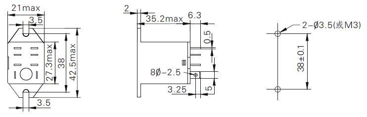 示灯插拔式继电器