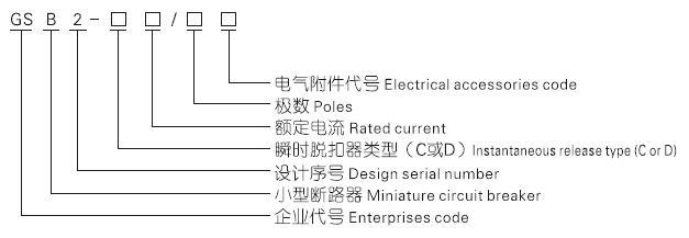 d型 小型断路器