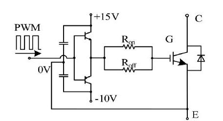 因此驱动电路要有隔离功能,目前驱动隔离方案有光耦,光纤,脉冲变压器